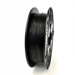 1.75mm FPE Black Filament Shore 65D 0.50kg